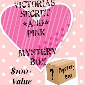 New Victoria's Secret And V.S Pink Mystery Box